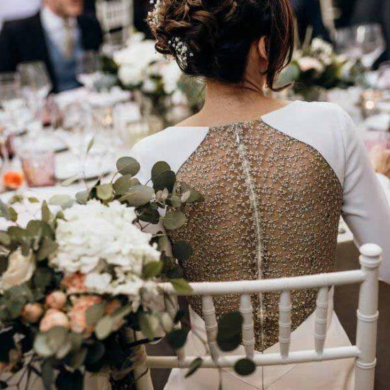 traje de novia sencillo
